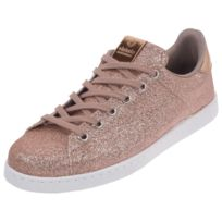 af441d672fd89 Victoria - Chaussures basses cuir ou simili Deportivo rose paillette Rose  39217