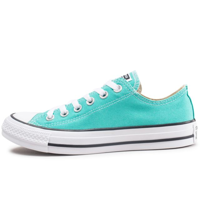 Converse - Chuck Taylor All Star Low Bleu Turquoise - pas ...