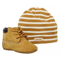 Timberland - Crib Bootie velours Enfant-16-Ocre