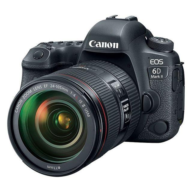 Canon Eos 6D Mark Ii + Ef 24-105mm f/4 L Is Usm Ii Garanti 3 ans