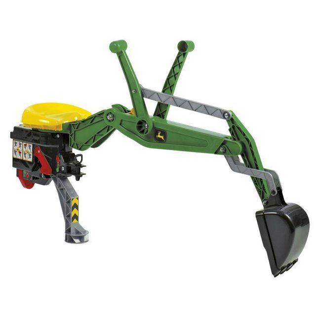 Rolly Toys 409358 Excavateur arrière pour tracteurs