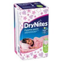 Huggies - Culotte Dry Nites Girl 4-7 Ans 17-30 Kg