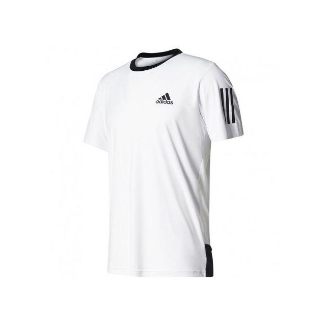 tee shirt adidas homme blanc