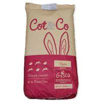 Cot&CO - Gasco - Aliment Complet pour Lapins Fermiers - 25Kg