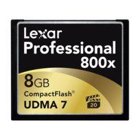Lexar - Compact Flash 8 Go 120 Mo/s 800X