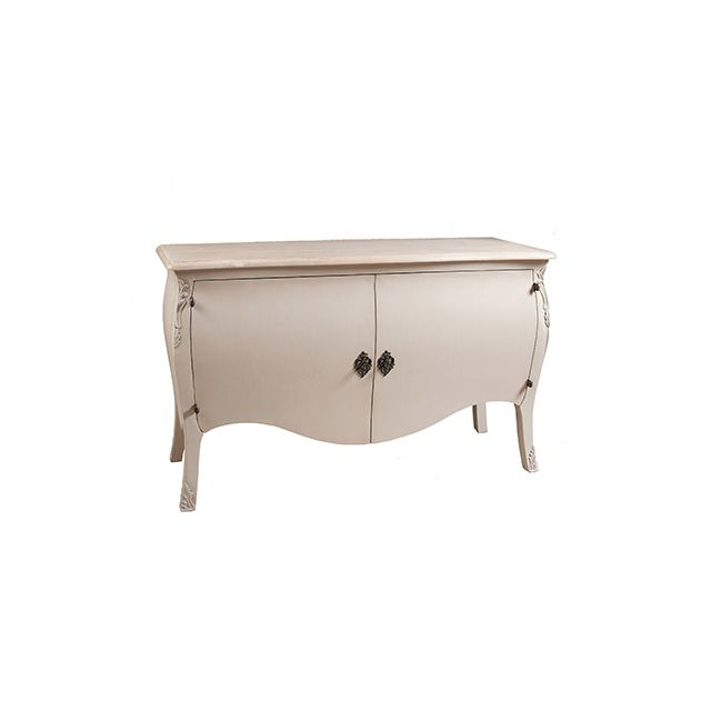 Commode 2 portes couleur argile en Manguier