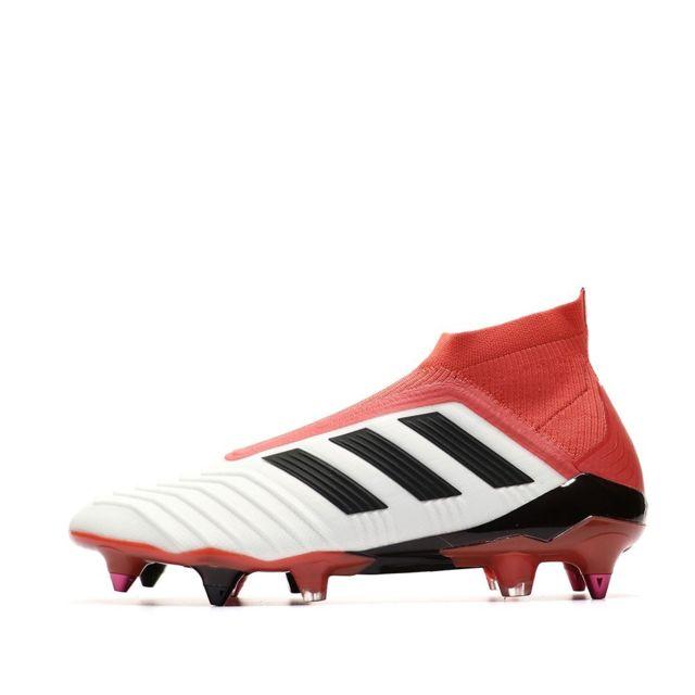 Adidas Predator 18+ Sg Chaussures de foot blanc homme