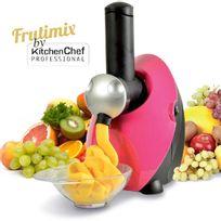 Kitchen Chef - sorbetière à glaces naturelles 150w fushia - fdm1301p