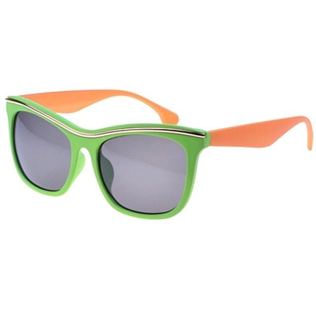 4d6321ac1bf200 Wewoo - Uv400 Retro Style lunettes soleil pour les sports plein air Couleur  monture  Vert