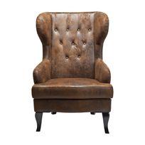 fauteuil oreille achat fauteuil oreille pas cher soldes rueducommerce. Black Bedroom Furniture Sets. Home Design Ideas