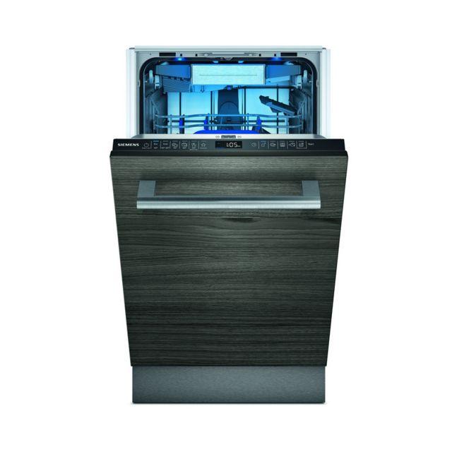 SIEMENS lave-vaisselle 45cm 10c 43db a+++ tout intégrable - sr65zx23me