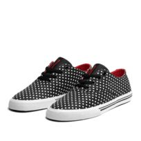 Shoes Wmns Wrap Black Polka / Red - White