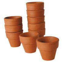 - petit pot terre cuite - lot de 10