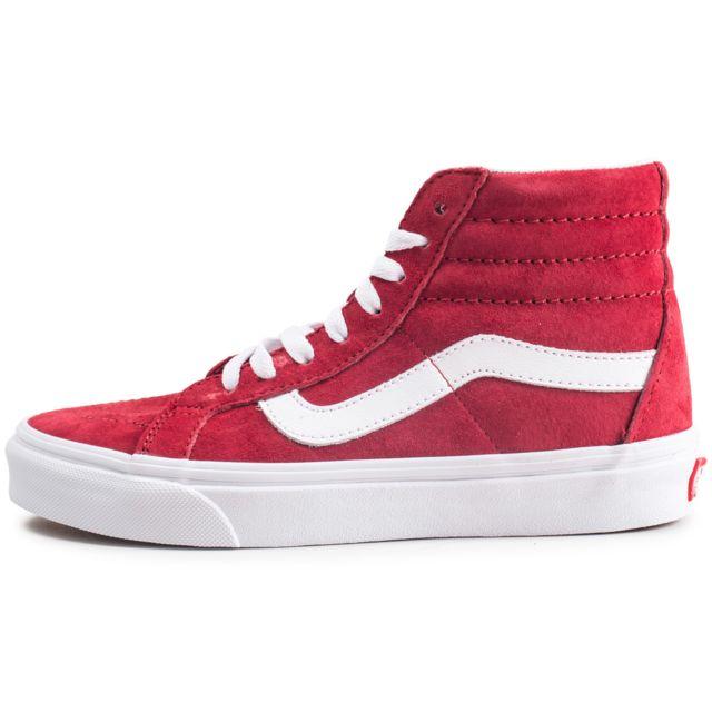 chaussures vans femme blanche