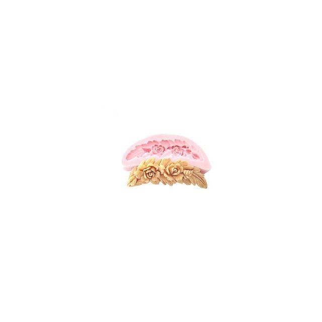 Alpexe Moule de Cuisson Courone Fleur 3D Pour Gâteau Pour Cookie Pour Tarte Silikon Ecologique