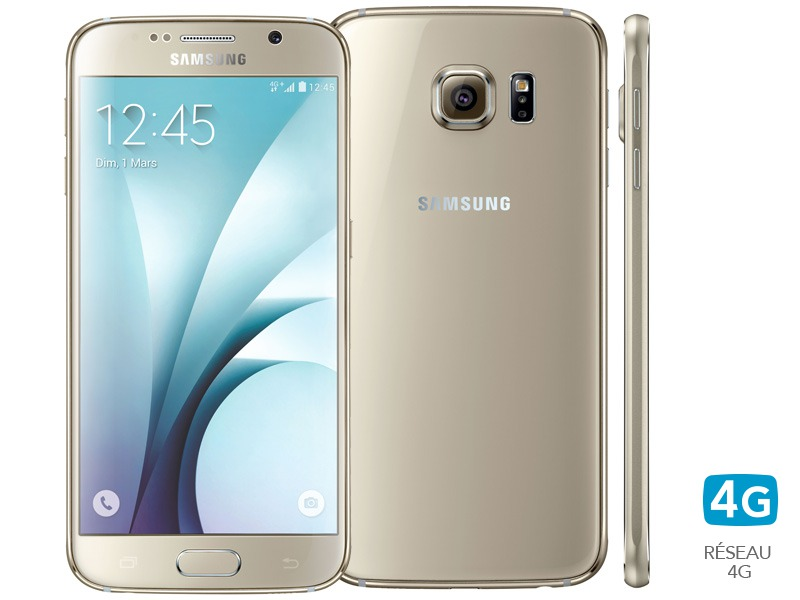 Galaxy S6 32Go Or