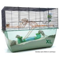 Savic - Cage rongeurs Habitat Xl Bleu Marine