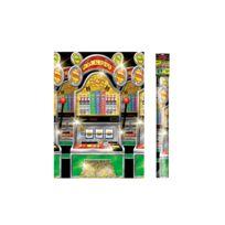 Amscan - 1 Rouleau De Décoration Murale Casino Party