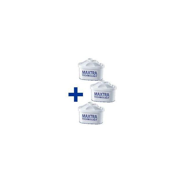 BRITA - Carafe Filtrante Marella Pastel Bleue + 3 cartouches Maxtra incluses