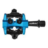 Xpedo - Pédales Cxr Xmf10AC 9/16' Vtt Cyclocross compatibles Spd noir bleu