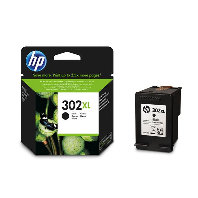 HP Cartouche d'encre noire grande capacité F6U68AE