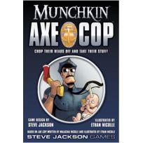 Steve Jackson Games - Jeux de société - Munchkin Axe Cop