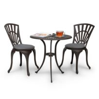 Ensemble Table Chaises Bistrot