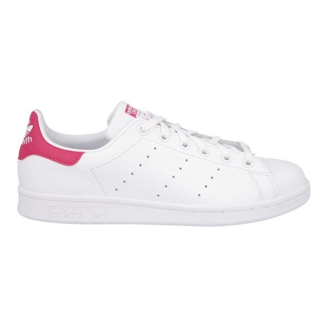 Adidas originals - Adidas Stan Smith J Blanc