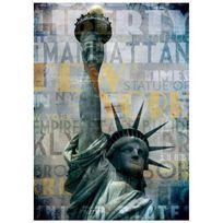 Aucune - Tableau Bcn 50x70 - Statue de la Liberté