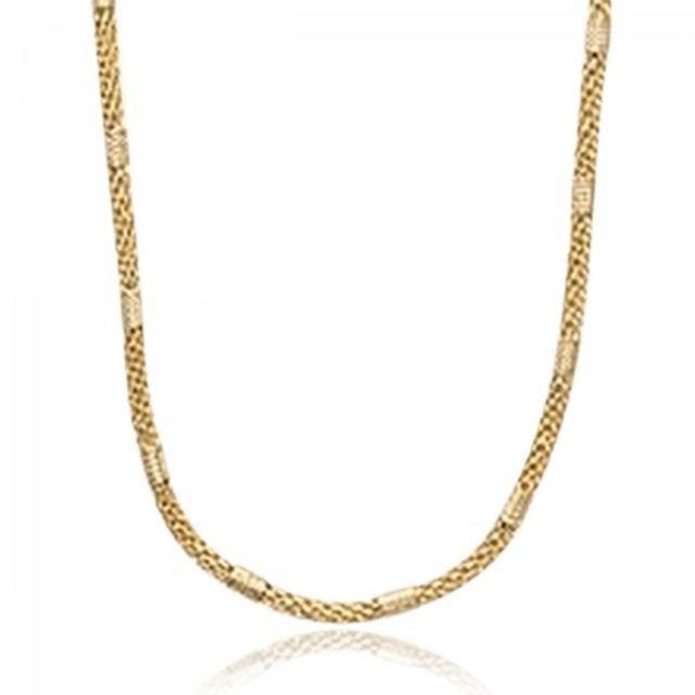 Bijoux En Vogue - Collier Plaqué Or Jaune - pas cher Achat   Vente Chaînes,  colliers - RueDuCommerce f12e5fc01482