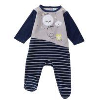 TEX BABY - Pyjama bébé TRIO en velours