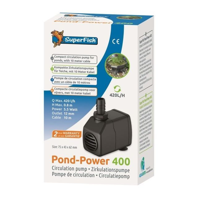 Superfish Pond-power 400 420 L/H