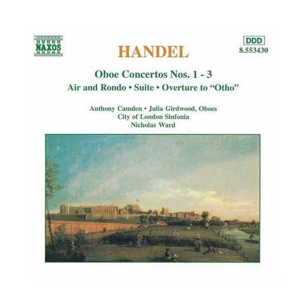 Naxos - Concertos pour hautbois Nos 1 à 3