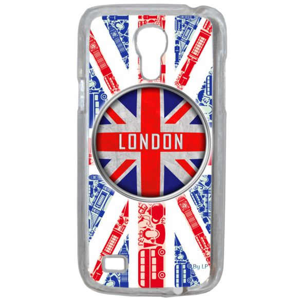 Lapinette - Coque Rigide London Uk Pour Samsung Galaxy S4 Mini