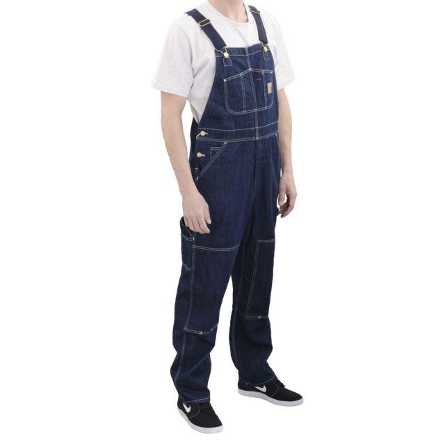 4d40aa7b424 Carhartt - pantalon Bib Overall Homme - pas cher Achat   Vente Pantalon  homme - RueDuCommerce