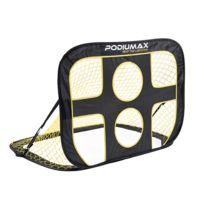 Zeeshop - But de foot 2 en 1, cage de football pop-up avec filet cible, cage cible, set de football nomade avec housse de transport - 108 x 80 x 80 cm