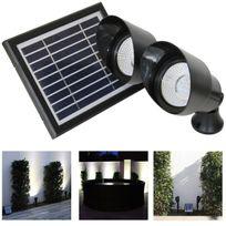 Alpexe - Projecteurs solaires puissants paysage lot de 2