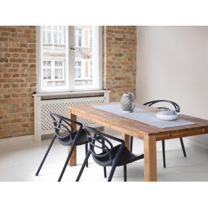 beliani table de salle manger table de cuisine ch ne clair 180 cm maxima pas cher. Black Bedroom Furniture Sets. Home Design Ideas