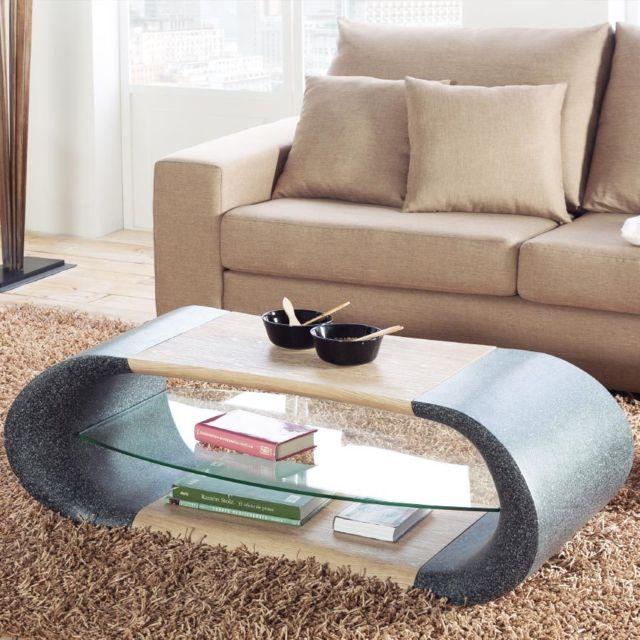 Sofamobili Table Basse Moderne Cecile Pas Cher Achat Vente