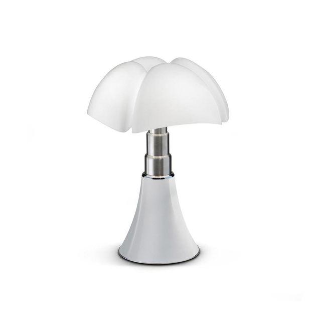 Martinelli Luce Mini Pipistrello Cord-less - Lampe Nomade Blanc Led H35cm - Lampe à poser designé par Gae Aulenti