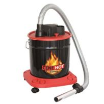 Ribimex - Aspirateur cendres chaudes Cenehot 18 L