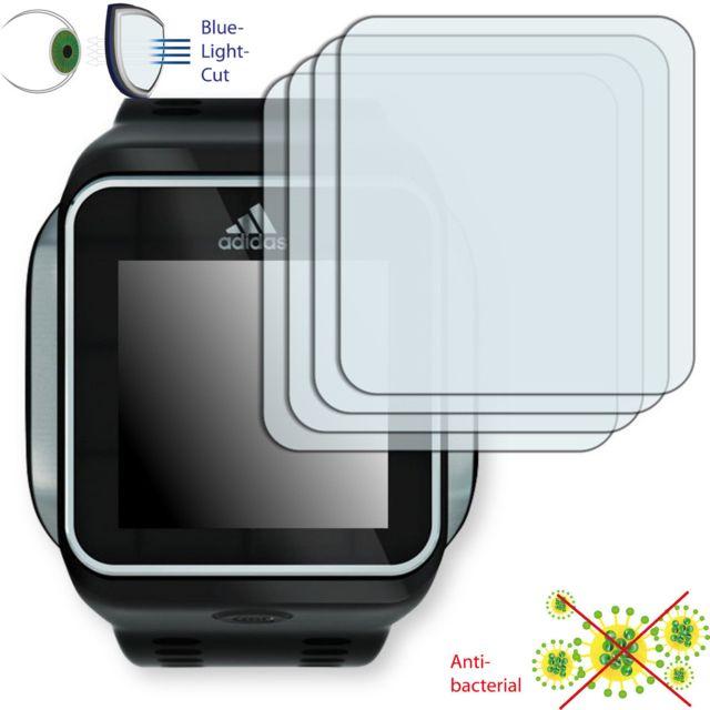 Disagu - Adidas miCoach Smart Run Film de protection d'écran - 4x ClearScreen pour Adidas miCoach Smart Run antibactérien, filtre lumière bleue