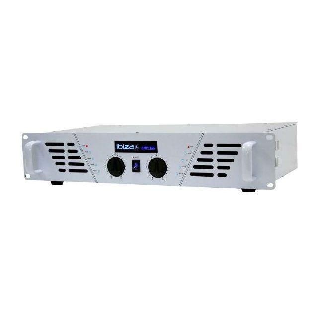 Ibiza Amplificateur sono 2 x 480 W Max Amp-600 Wh