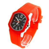 Sbao Femme - Montre Femme Silicone Rouge 2206