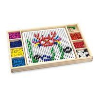 New Classic Toys - 8235 - Jeu De Plateau - Jeux De CrÉATIONS - Picos ColorÉS Et Ludo