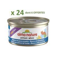 Almo Nature - Promo 24 Boites De Mousse poisson de l'océan Daily menu 85G