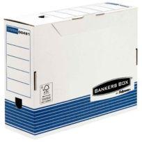Bankers Box - 1130902 - boite archive 33x25 - dos 10cm - paquet de 10