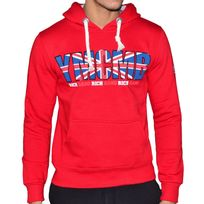 Ymcmb - Sweat à Capuche - Homme - Hs8011 Angleterre Rich Gang - Rouge