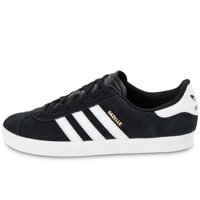 Adidas originals - Gazelle 2 Noire Et Blanche Baskets/Tennis