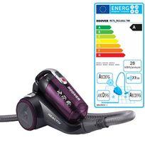 Hoover - aspirateur sans sac aada 77db violet - rc71_rc11